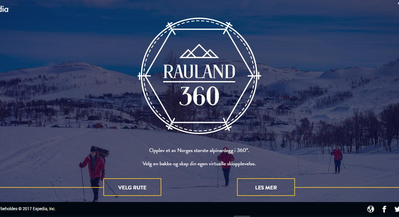 Go skiing with virtual reality 360-degree tour down the slopes